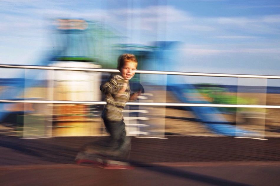 Beautiful stock photos of action, Blurred Motion, Boys, Caucasian, Cheerful