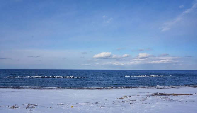 Sea Sea And Sky Winter Sea Hokkaido オホーツク海
