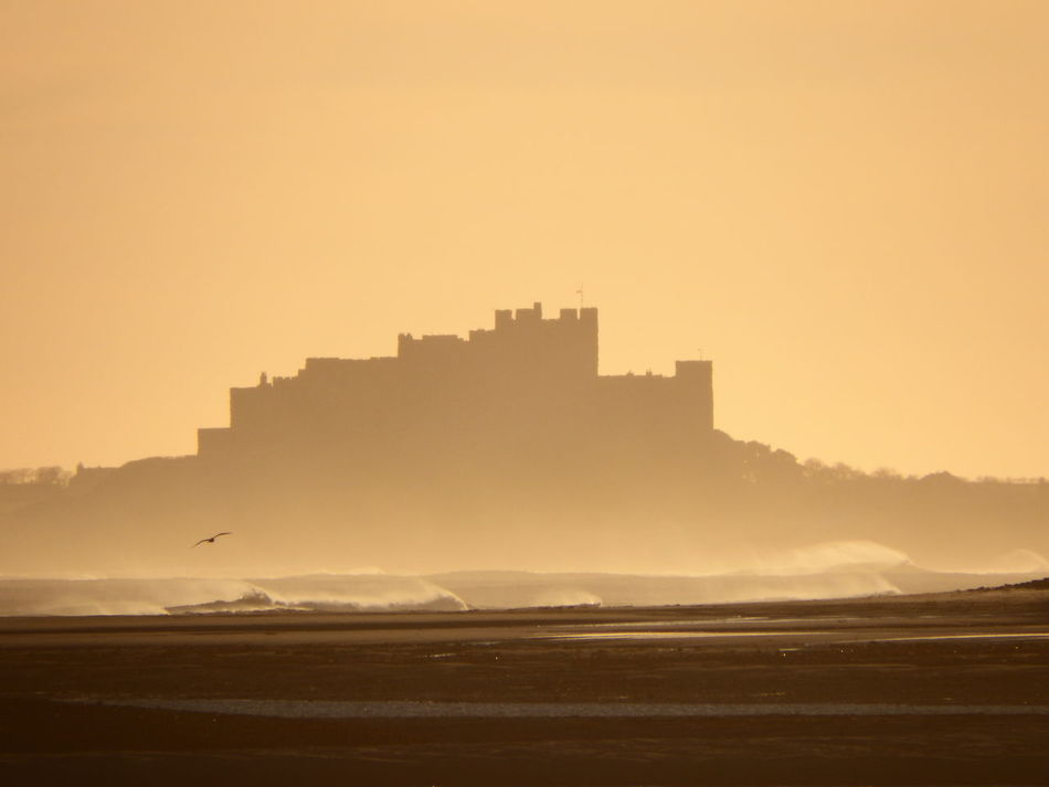 Beautiful stock photos of castle, Architecture, Bamburgh, Beach, Beauty In Nature