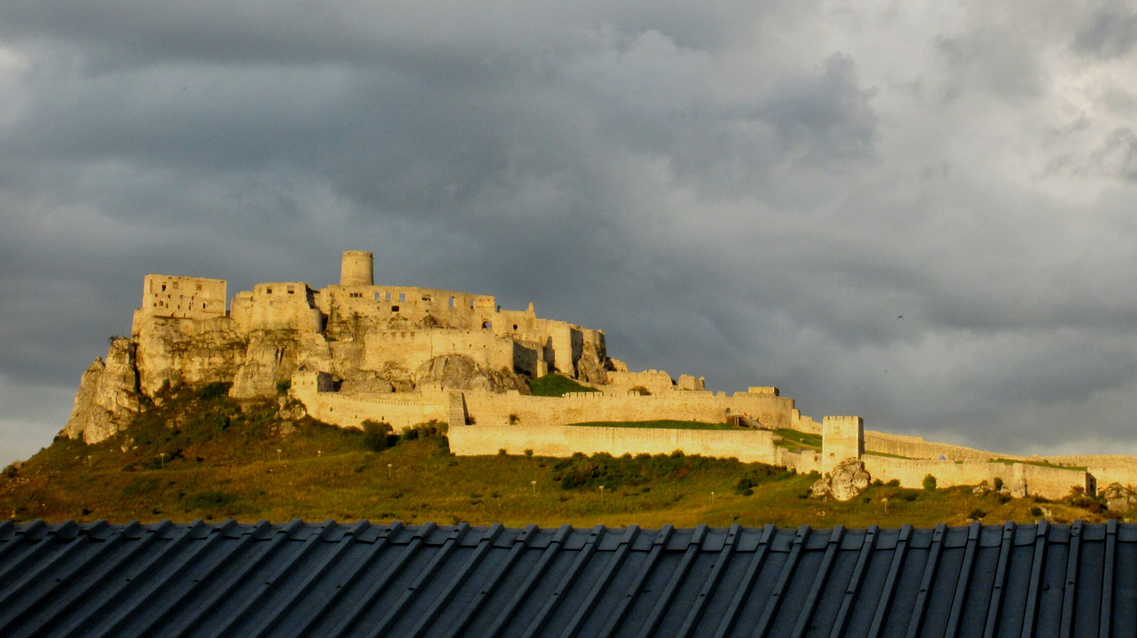 Slovakia Hrad Spissky Hrad Spisskepodhradie Viewsfrommywindow Castle Architecture Cloud - Sky