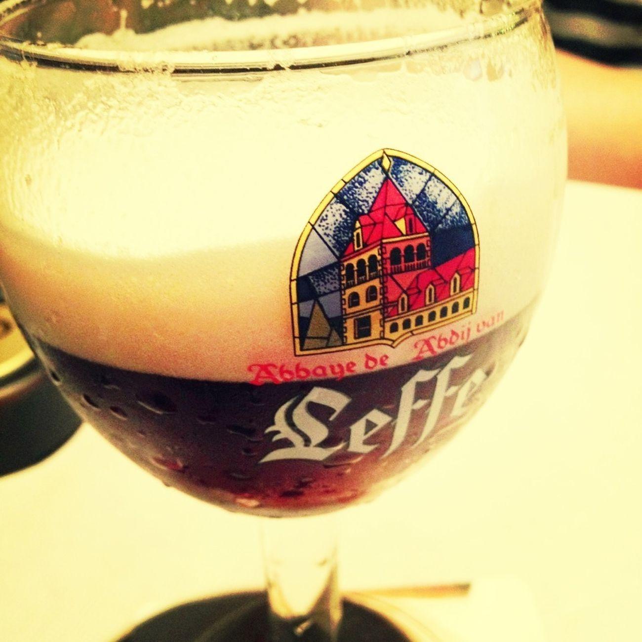 修道院ビールLEFF。甘い Beer