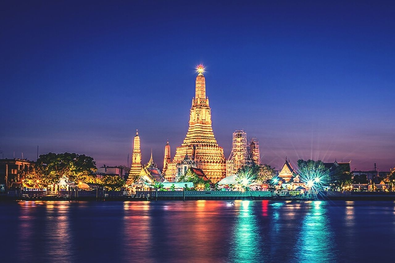 Wat Arun Bangkok Arun Wat Temple Thailand Travel ASIA River First Eyeem Photo
