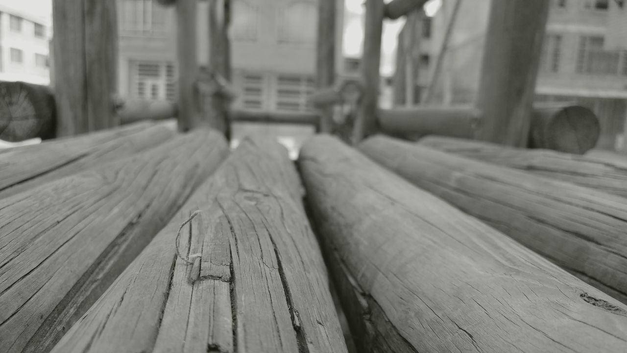 wood - material, close-up, no people, focus on foreground, log, timber, day, built structure, outdoors