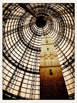 tower at Melbourne Central Shopping Centre by Ellen