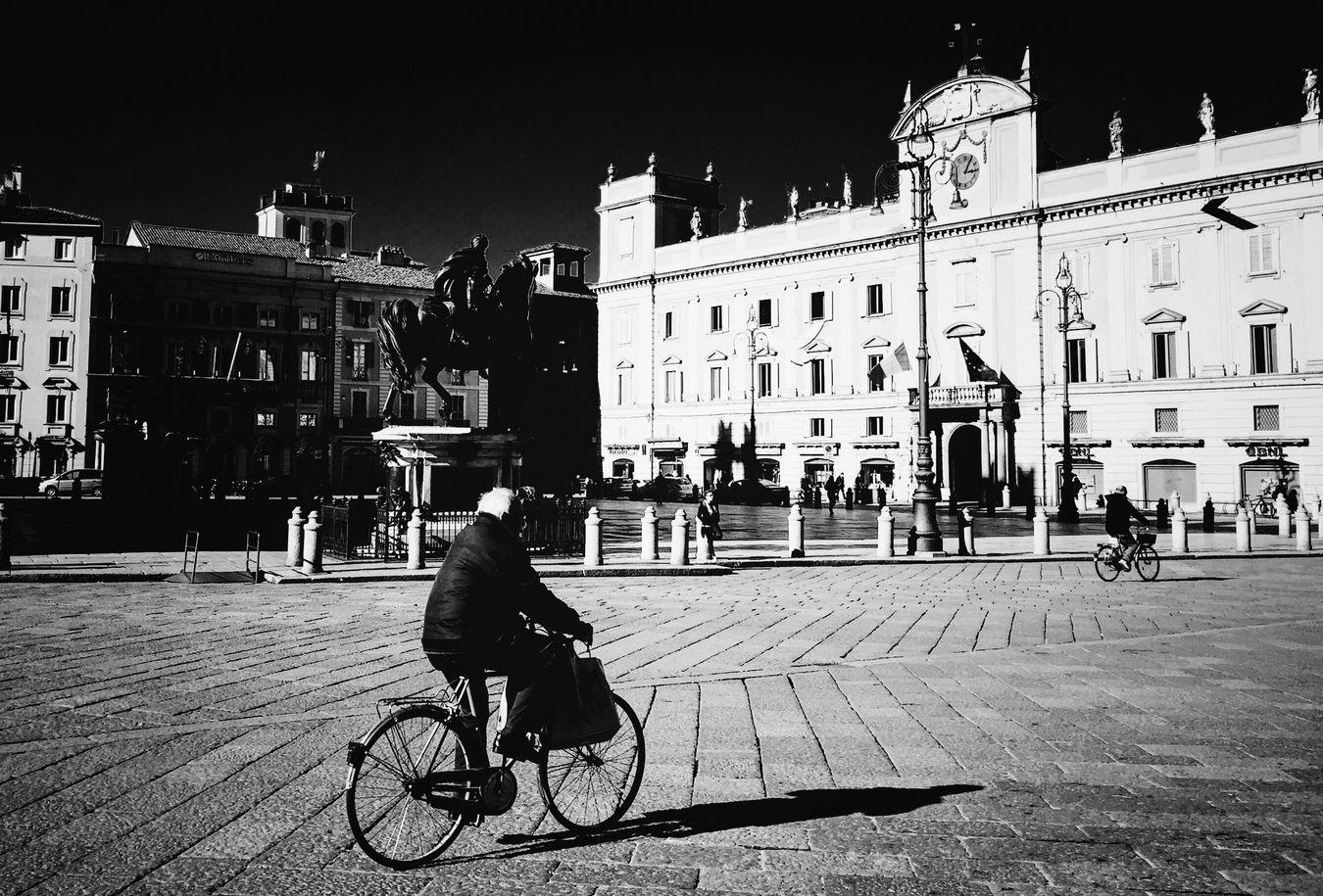 Piacenza Piazza Cavalli Italia Italy