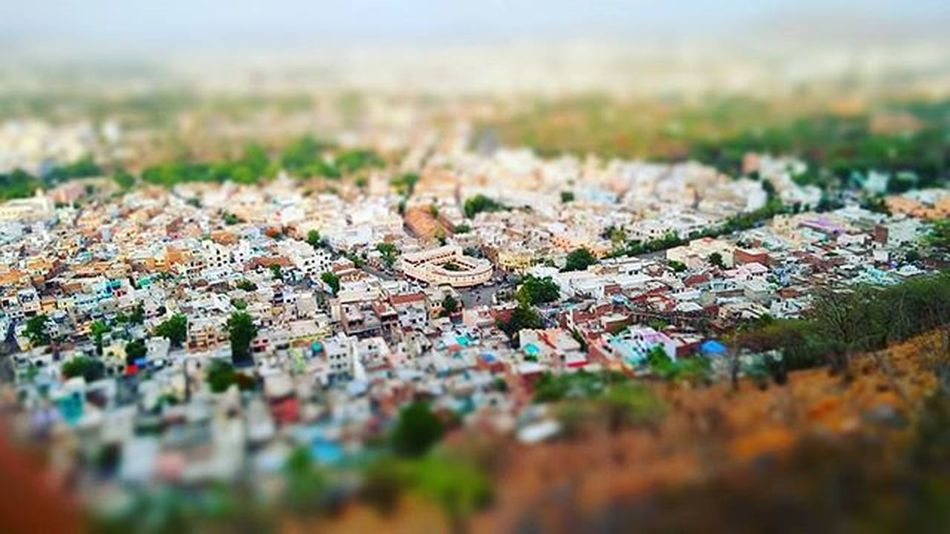 Udaipur Motimagriudaipur Urban Cityoflakes City Blur Landscape Rajasthan India