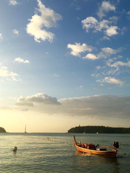 Thailand, Phuket No Filter Sea And Sky