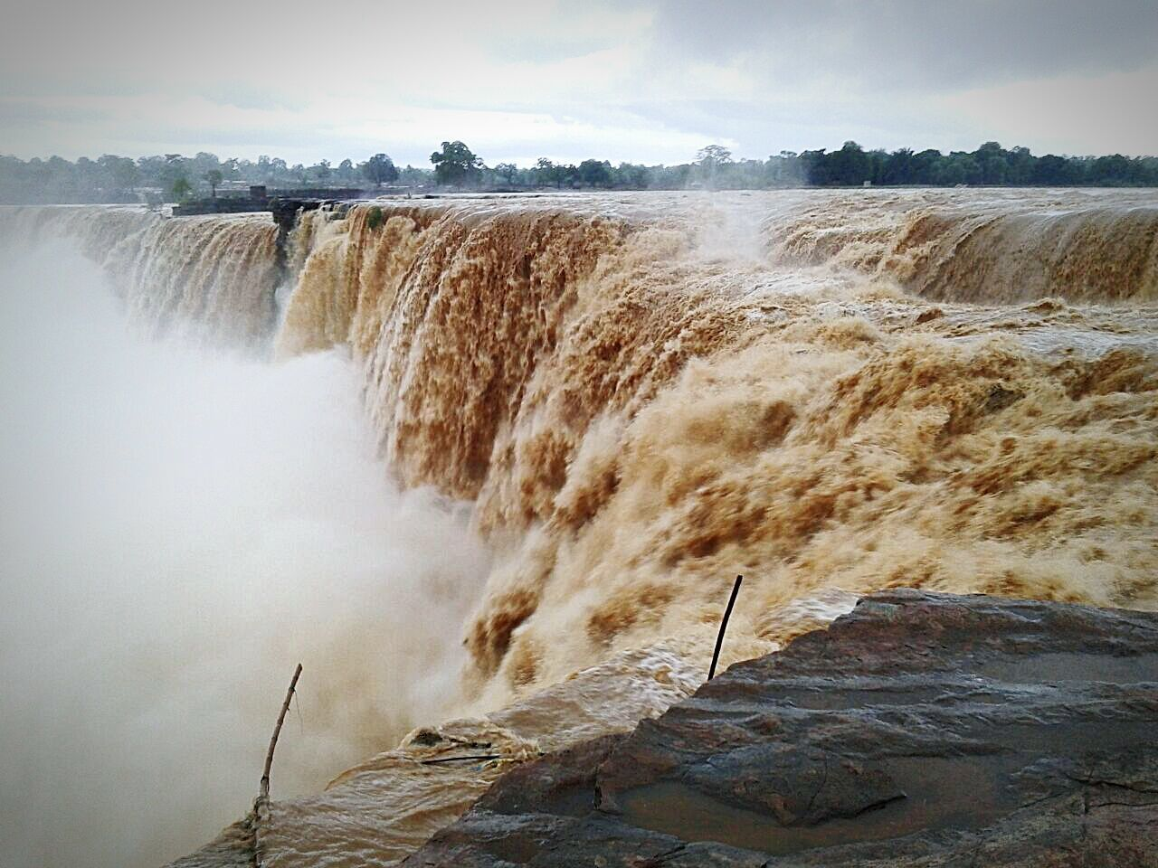Chitrkot, asia's largest waterfall.