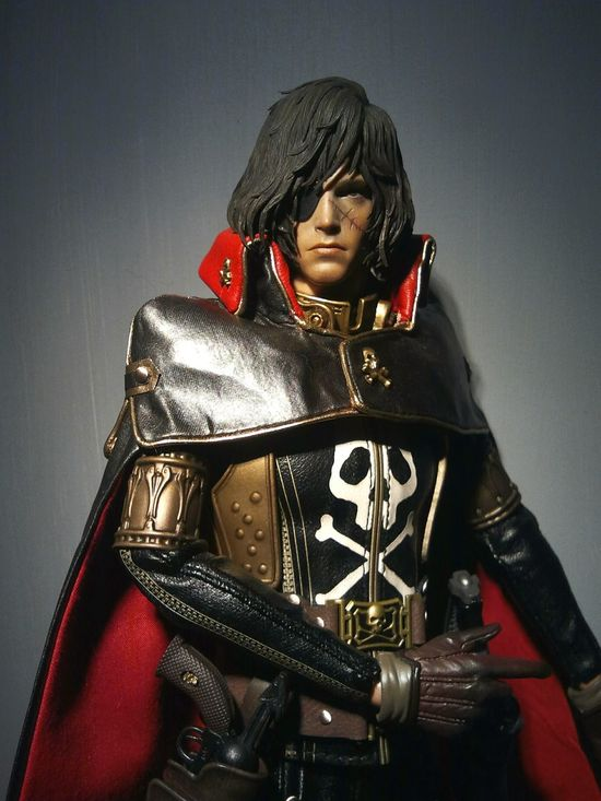 Hot Toys Space Pirate Captain HarlockHottoys 1:6 Scale Captain Harlock Toy Toys Toycrewbuddies Toygroup_alliance Toy Photography Toyphotography Toyphotogallery Action Figures Actionfigure Actionfigures Dolls Doll Photography Doll Anime