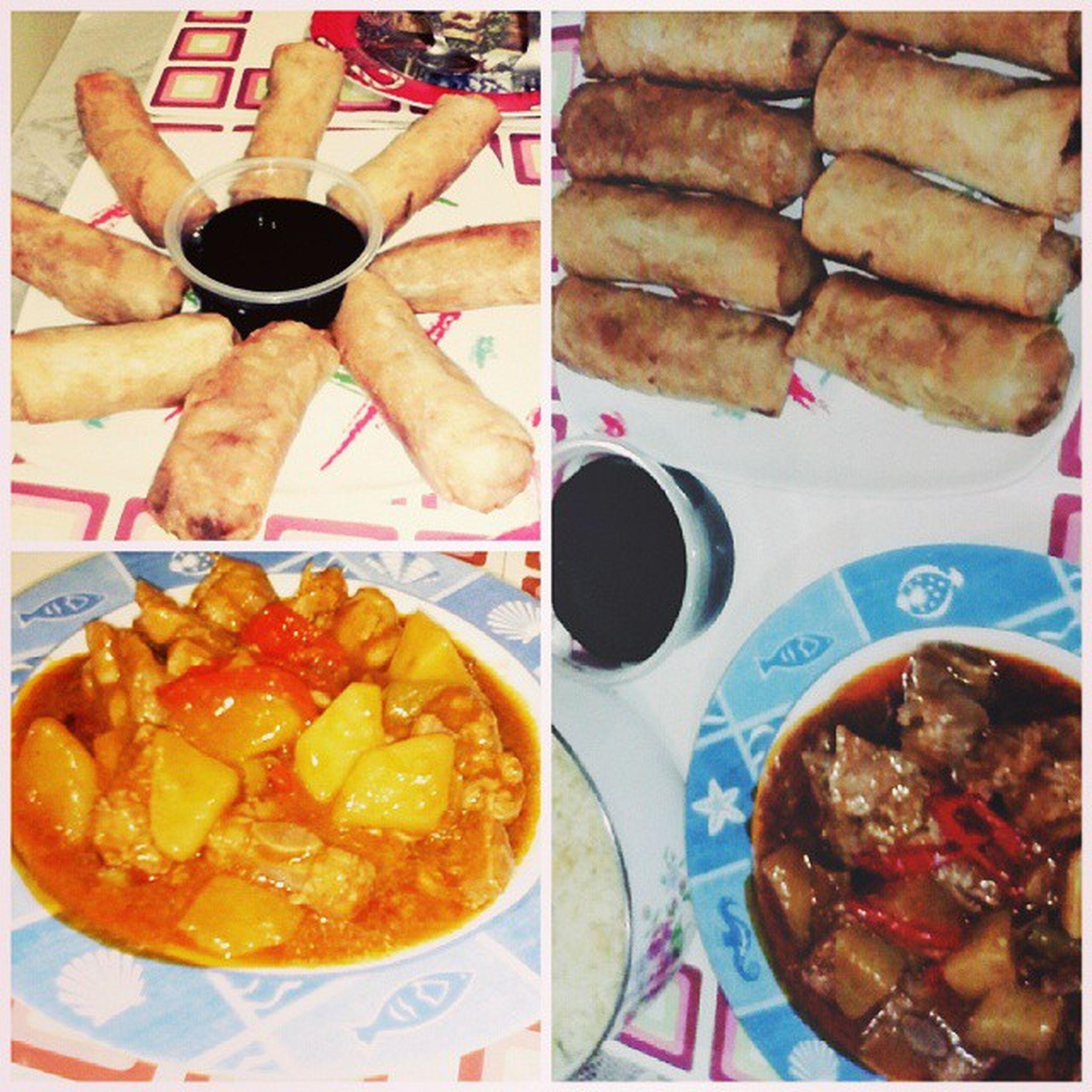 LunchALL Porkmechado PritongLumpianggulay
