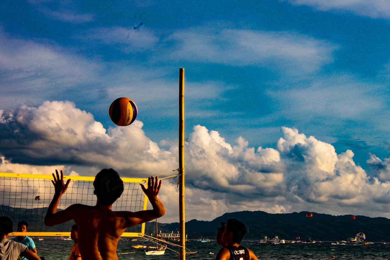 Live For The Story Boracay Island, Philippines Summer Eyeemphotography Philippines Canonphotography Travelphotography Eyeem Philippines Sports Photography Volltography
