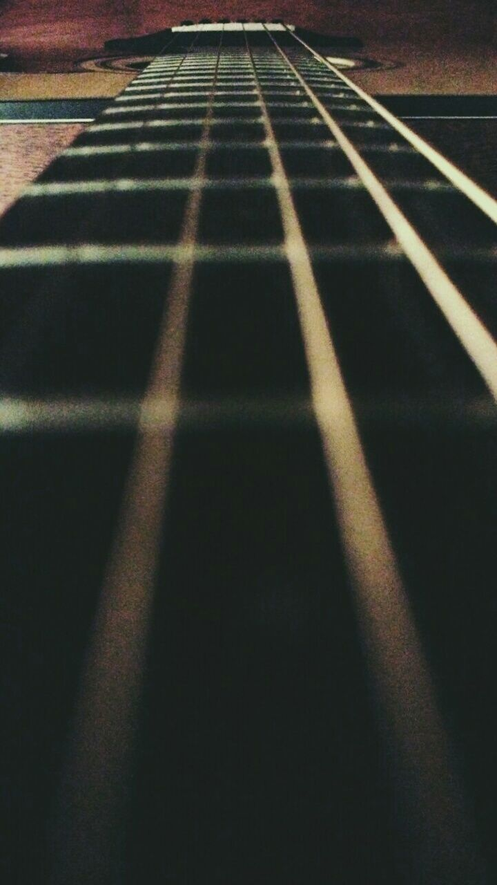 no people, pattern, day, full frame, backgrounds, indoors, close-up, guitar