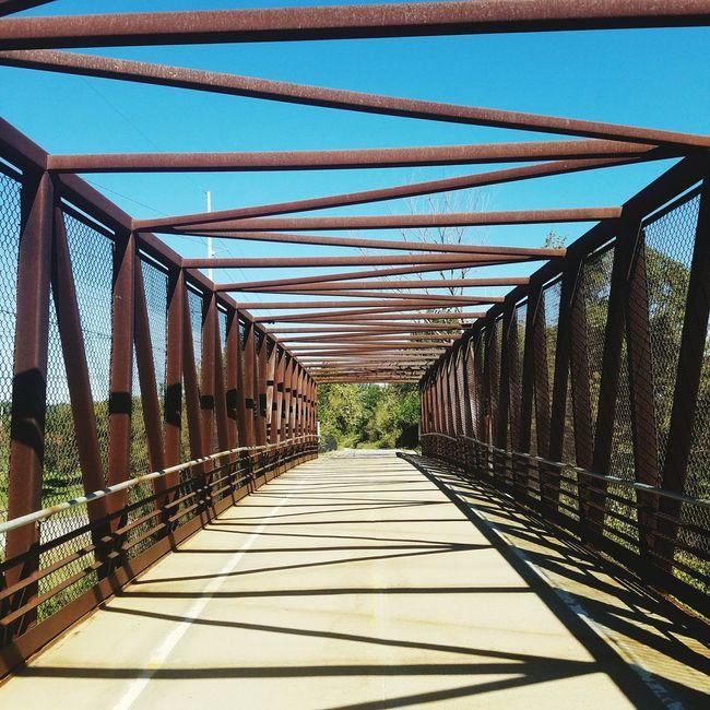 Bridge Day Sky Bridge - Man Made Structure Bicycling Bike Trail