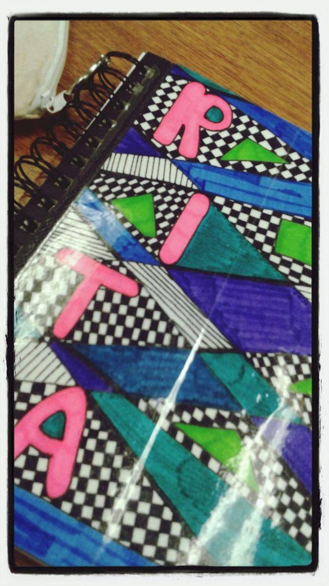 Art Class Rita Checkered Bubble Letter Freestyle