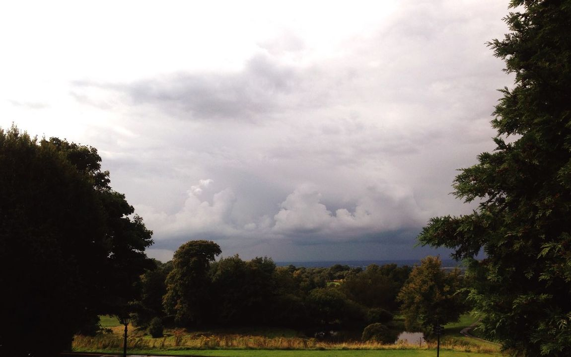 Weather Wonders Clouds rolling by. A soaking September is here.