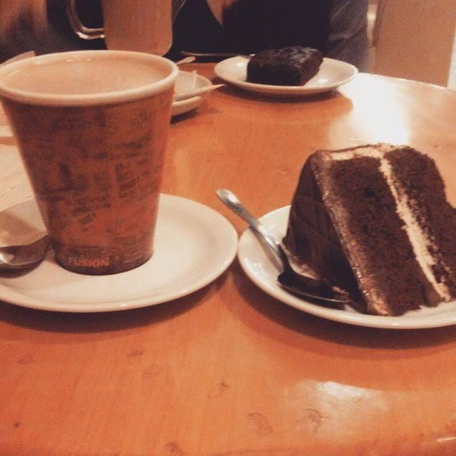 Iniciando muy bien el año :) StartingTheYearWell Coffee Cake Happy ?☕?