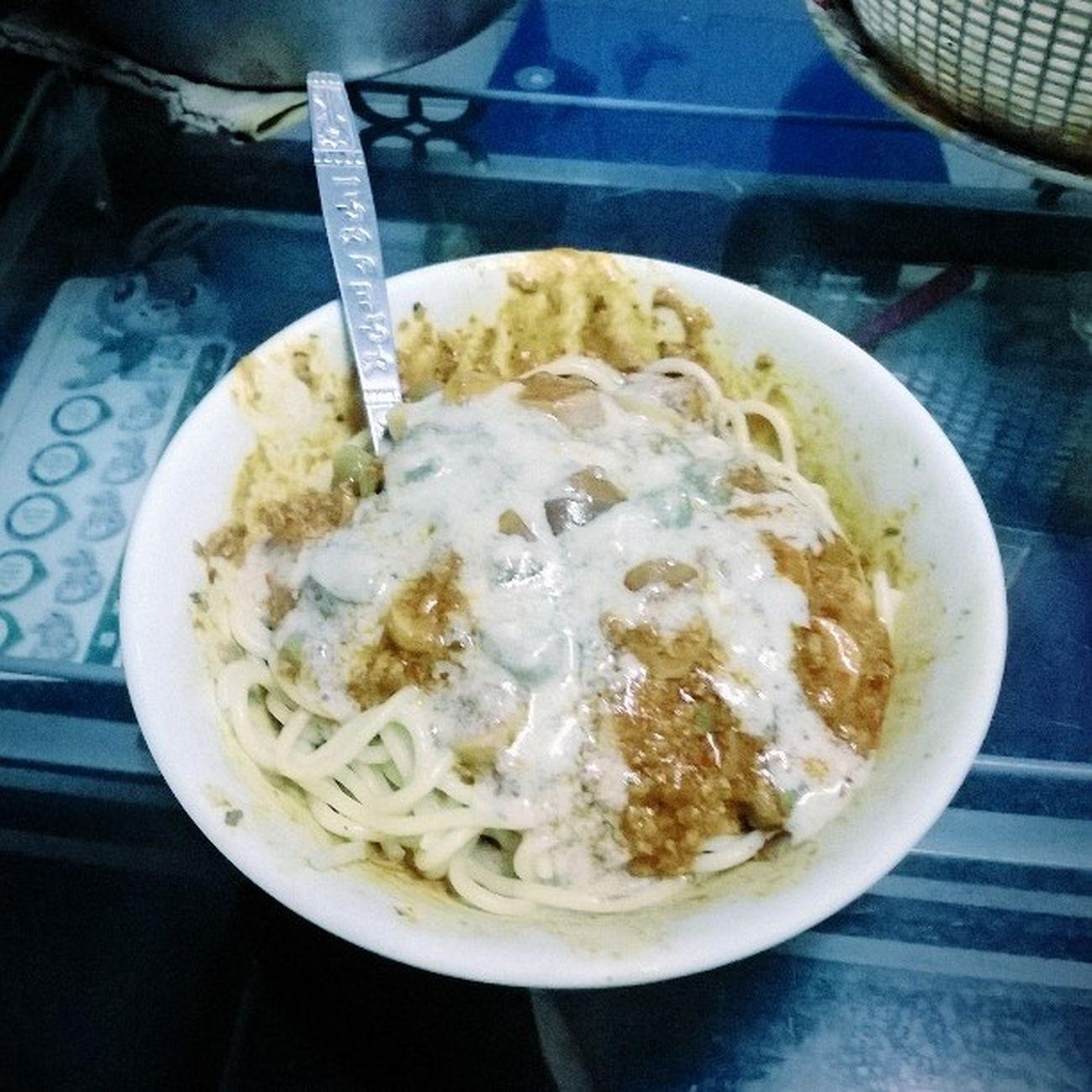 Apa?? Angpa ingt mangkok aku kotoq xbuleh post gmbaq kat ig ka? bolognese cheese tau... Foodporn npk sgt haghtag lg. ??