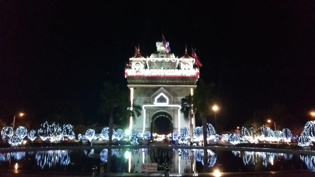 Patuxay Victory Monument Park (Patuxay)Vientaine Laos Patuxai Patuxaypark Vientiane Vientiane Laos Laos Laospdr Night Photography Nightphotography Lifeasiseeit Johnnelson