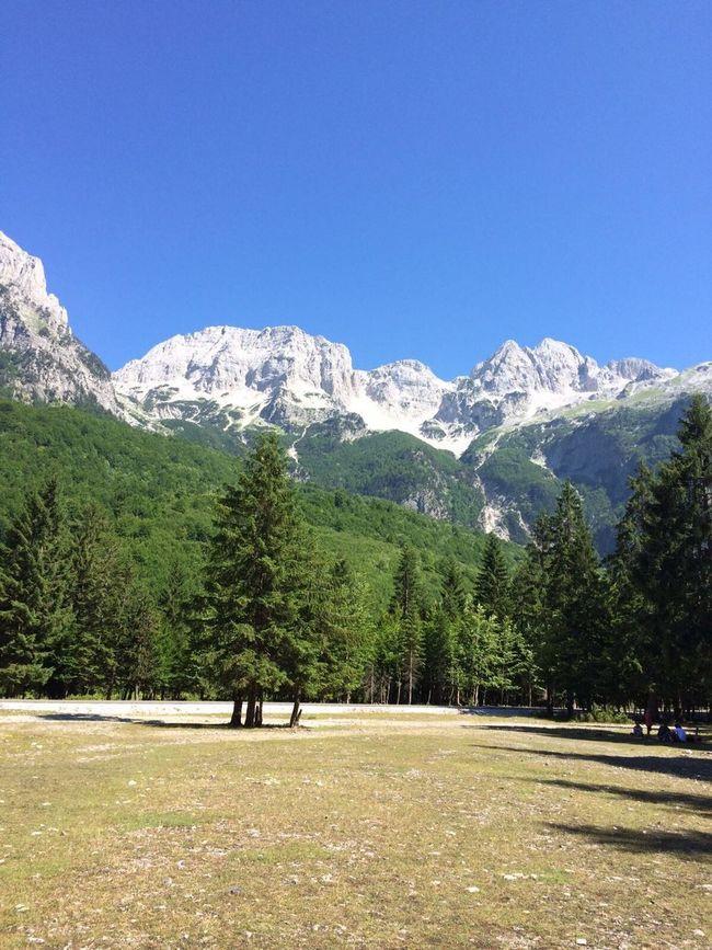 Mountain Kosovo Valbone