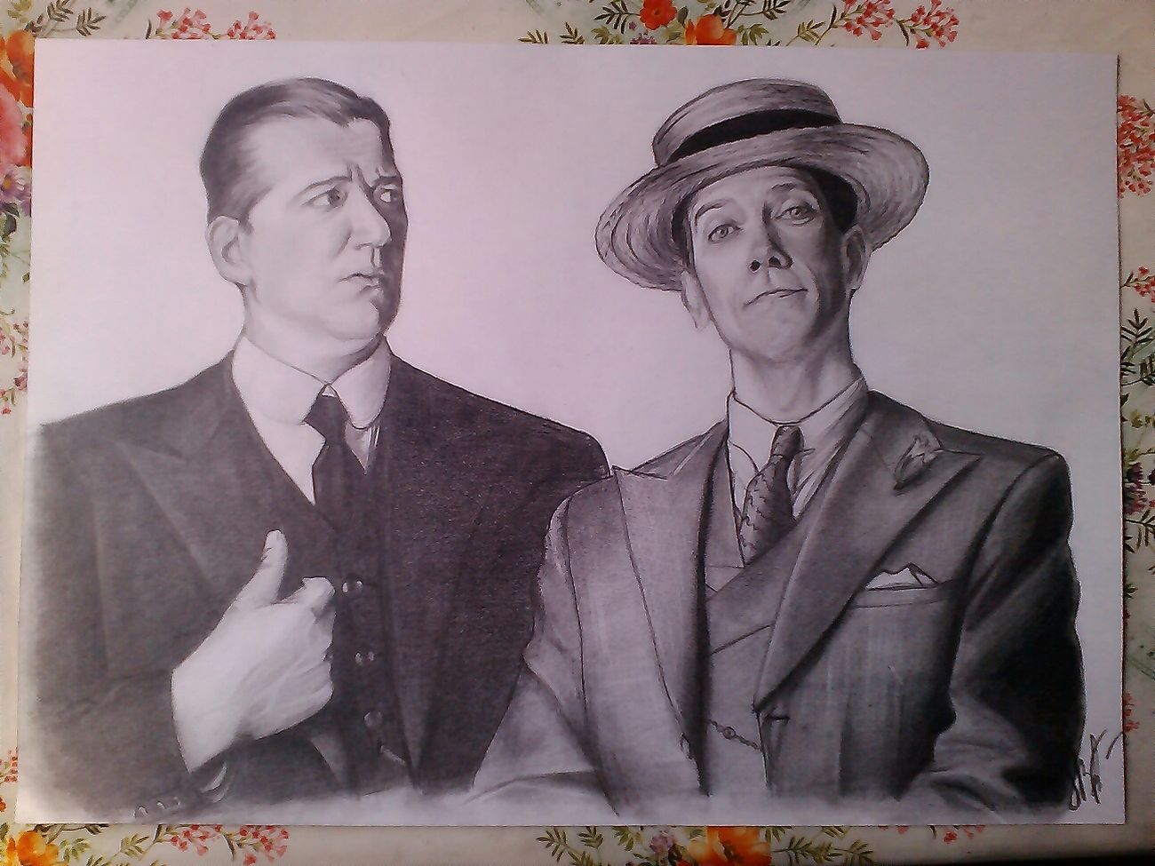 Jeeves And Wooster Stephen Fry Hugh Laurie Art Сегодняшнее мое.