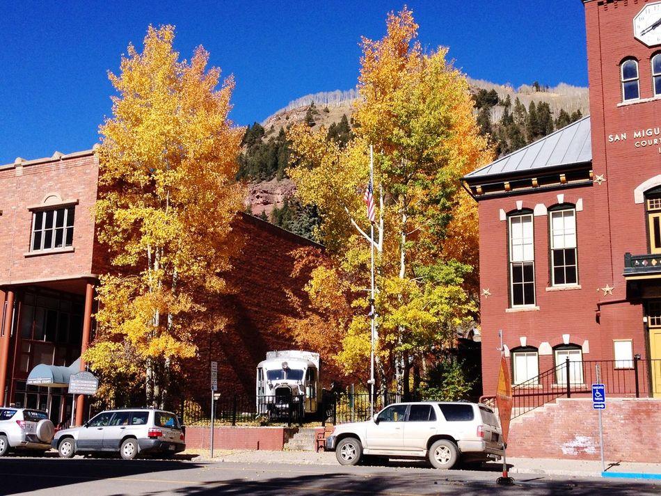 Telluride Colorado in October