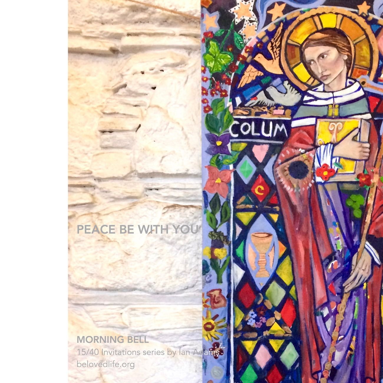 15/40 in #40Invitations series for the #Easter season Stillness Prayer Contemplation Life Iona Iona Community St Columba