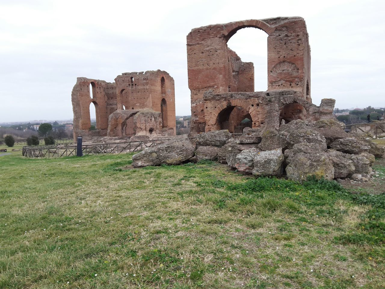 Villa Dei Quintili ArcheologicSite Roman Empire Roma, Italy