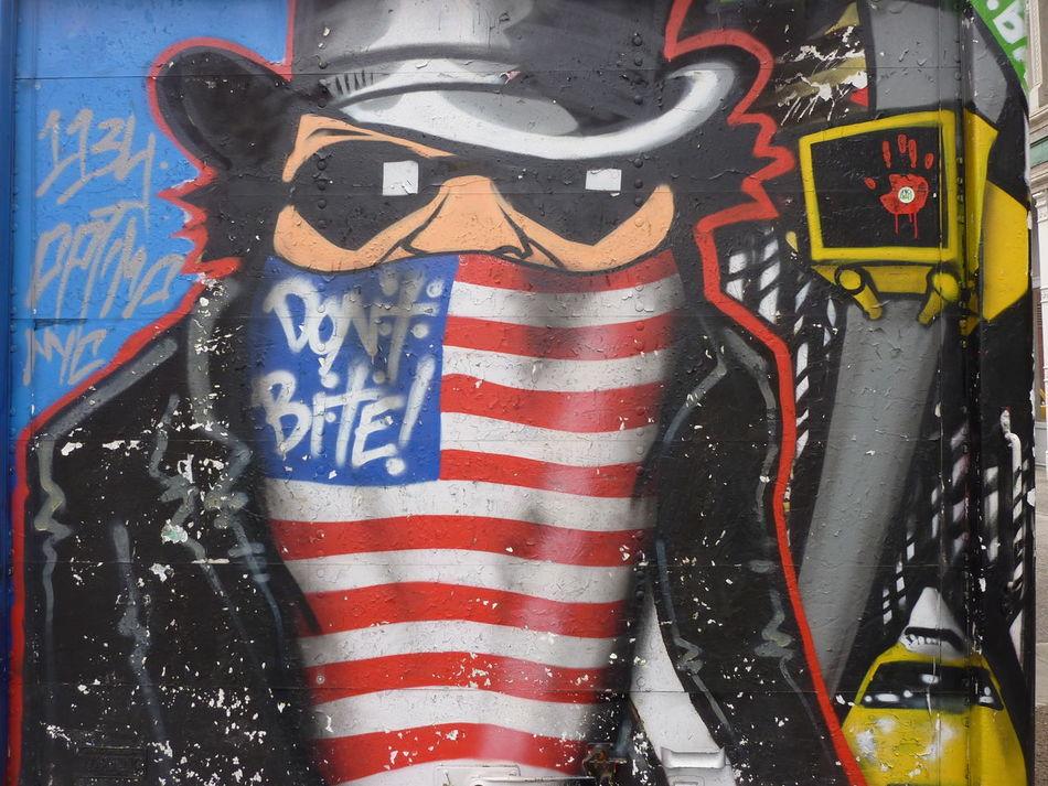 American Graffiti American Gangster American Graffiti. Close-up Cowboy Hat Cultures Day Kilt No People Outdoors Patriotism Pattern Uncle Sam