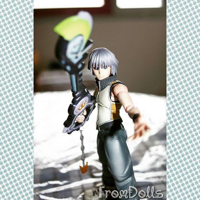 Fromdolls Figure Playarts Riku Kingdomhearts Keyblade Posing Kingdomhearts3d Manga Anime