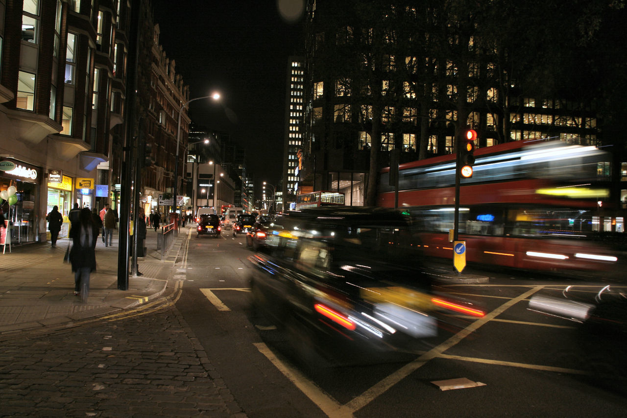 London Street Life Black Cab Blur Bright Lights City Light And Shadow London London Bus Metropolis Metropolitan Motion Night Photography Road Street Life Street Photography Street Scene Transport