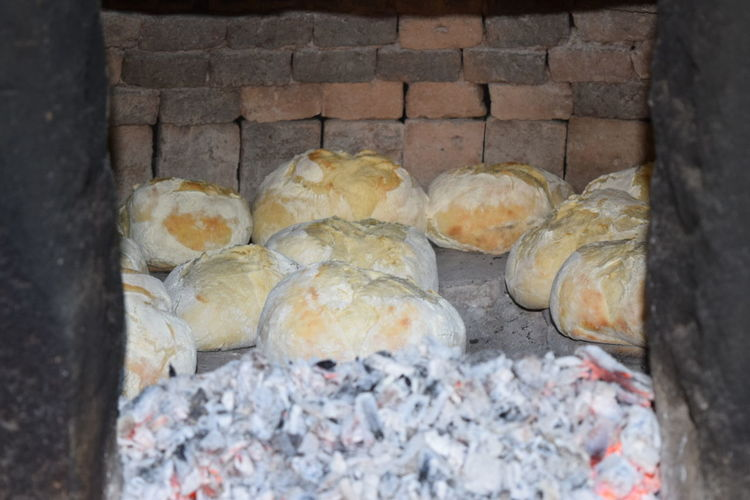 Stone Wall Woodfiredoven Woodfired Wood Fired Bread Organic Handmade Hot Bread Bread Farm Countryside Myfarm Hot Rural Life