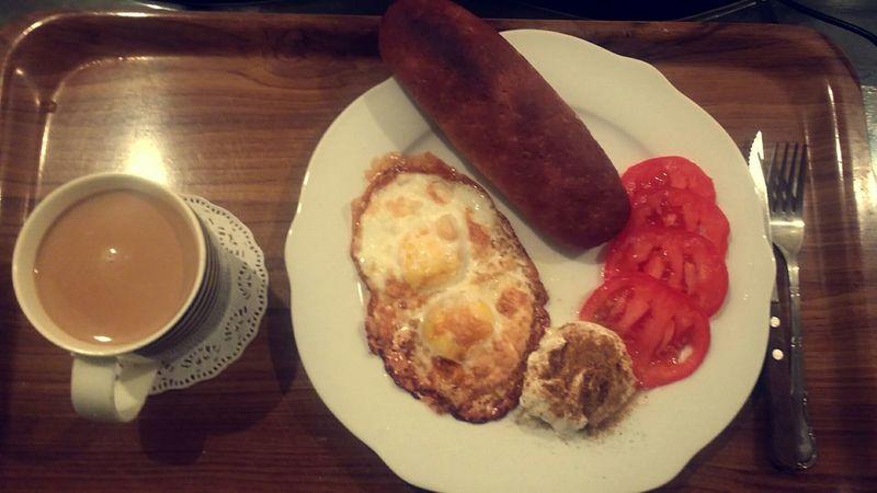 فطور Breakfast ويا صباح الخير Good Morning