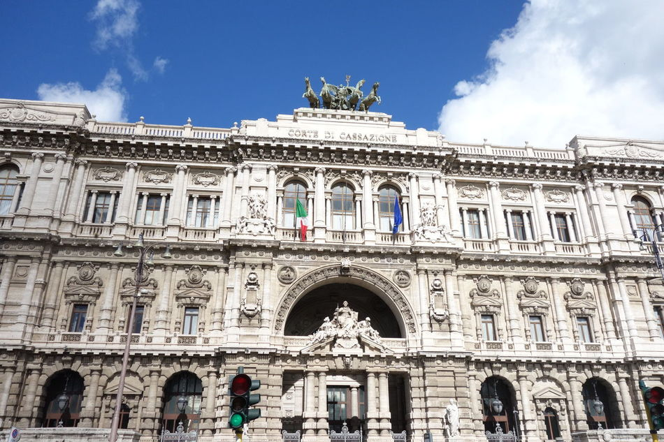 Building Exterior Famous Place Itary Roma Supreme Court