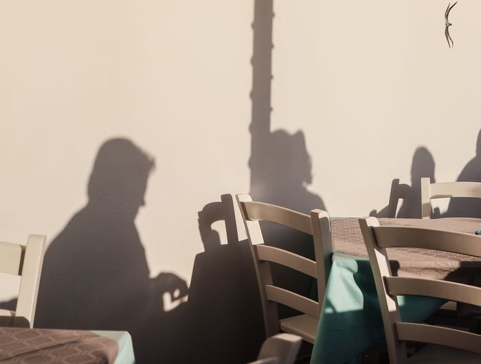 Shadowplay Shadow And Light Pastel Pastel Colors Shadow Photography Shadow Shadows And Silhouettes Silhouette Silhouette_collection Silhouettes Color Photography Pastel Nature Chairs