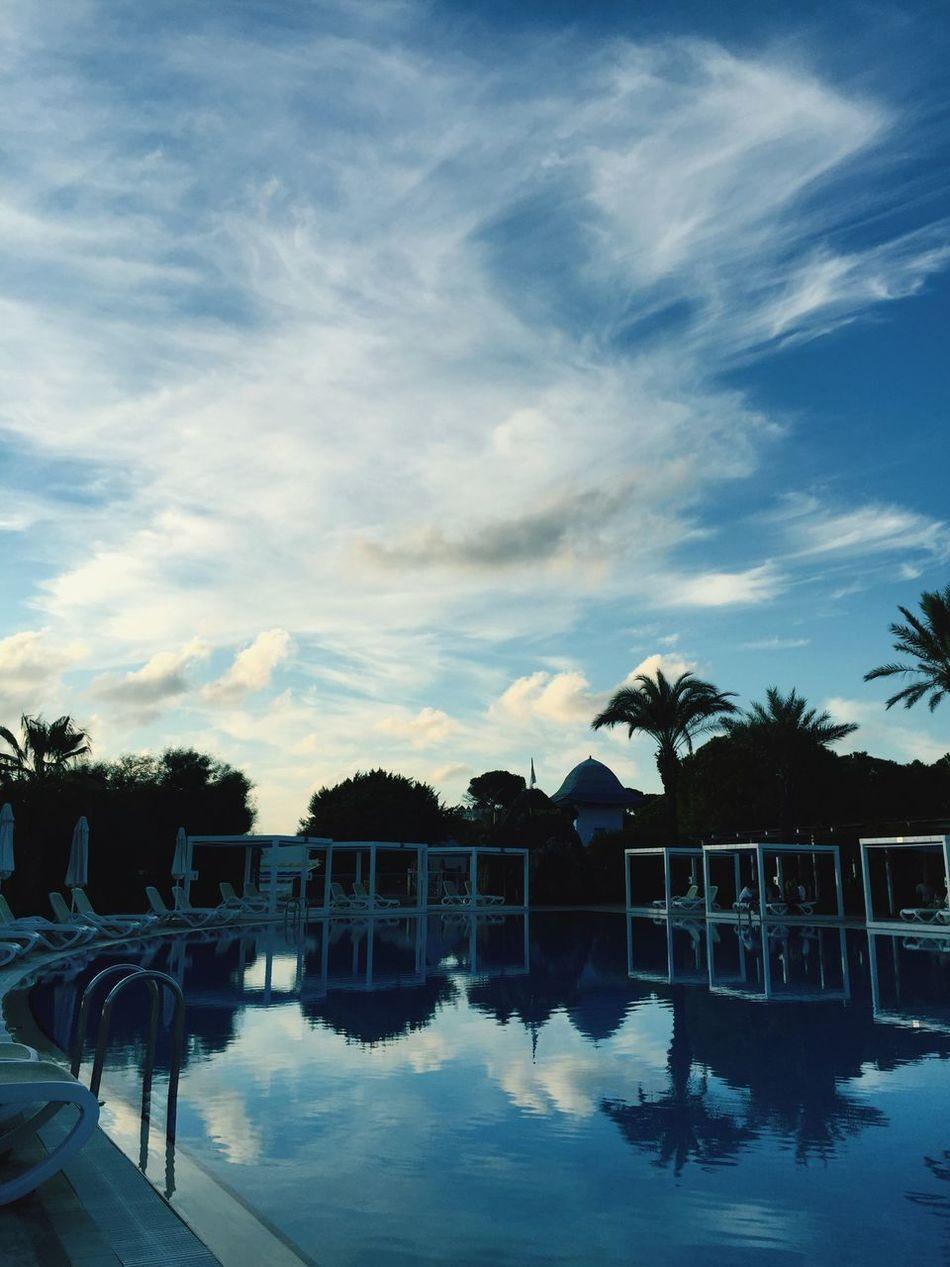 Antalya Turkey Antalya-belek Sky