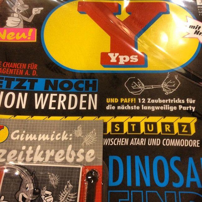 Da ich jetzt schon oft hörte #Yps sei ausverkauft, hier in #Altona nicht :) Altona Yps