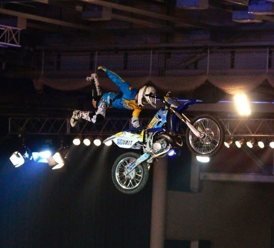 Night Of The Jumps  Motocross Sport Freestyle Motocross
