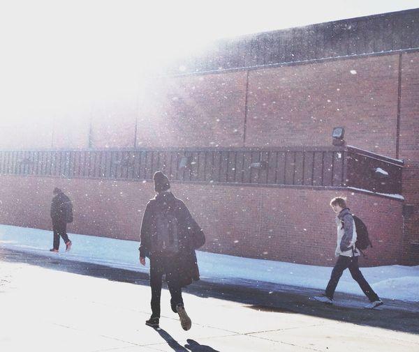 Winter Light People School