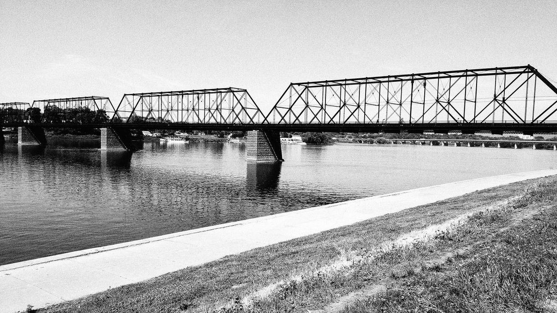 Walnutstbridge Bridge Harrisburg Harrisburg, Pa Susquehannariver, Bridges Followme Follow4follow EyeEm Best Shots EyeEm Best Shots - Black + White