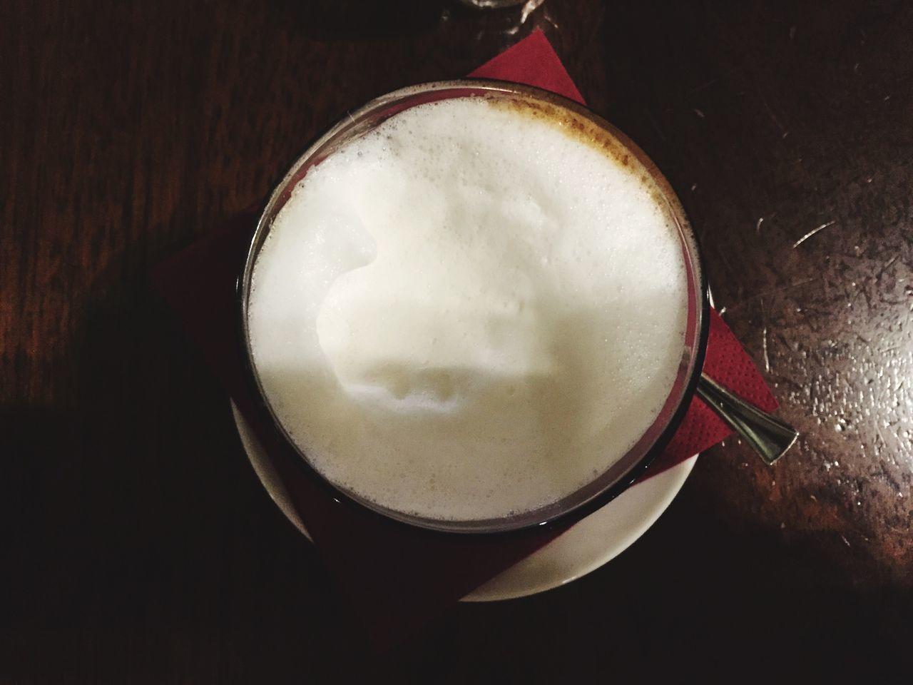 Liquid Lunch Italian Coffe Relaxing Montebianco Milk And Coffe