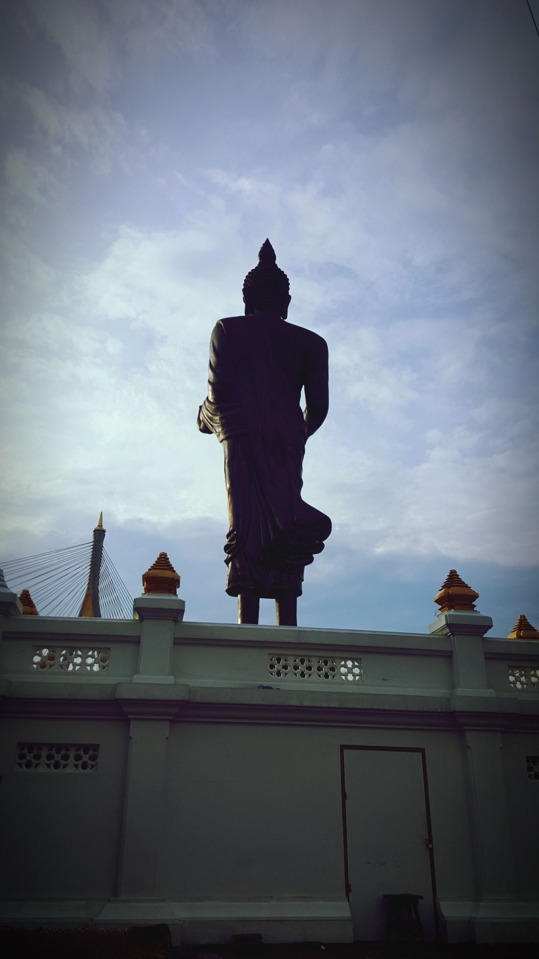 Back of Bhudda Bhuddist Bhuddha Thailand Bhudist Monk Thailand🇹🇭 Bhuddist Monestary Bhudha Statue