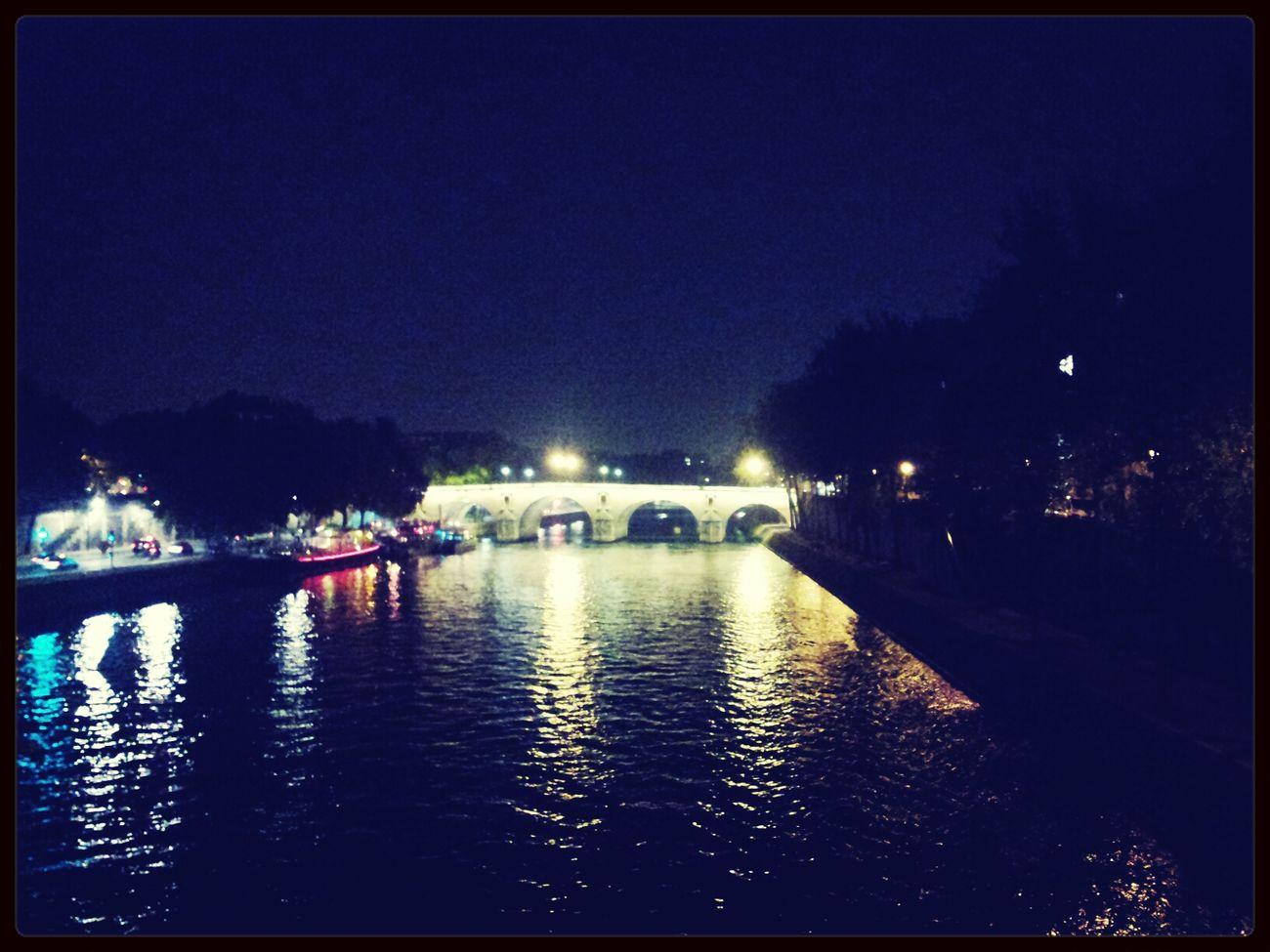 Paris Bridge Citylights Lovely Day