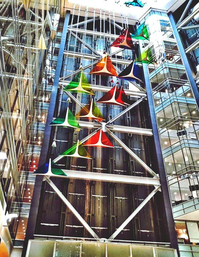 The beginning of Motown's return CompuwareBuilding Geometric Architecture Geometric Shapes Courtyard  Elevator Skylight Downtown Detroit CBMetro313Pics Hidden Gems