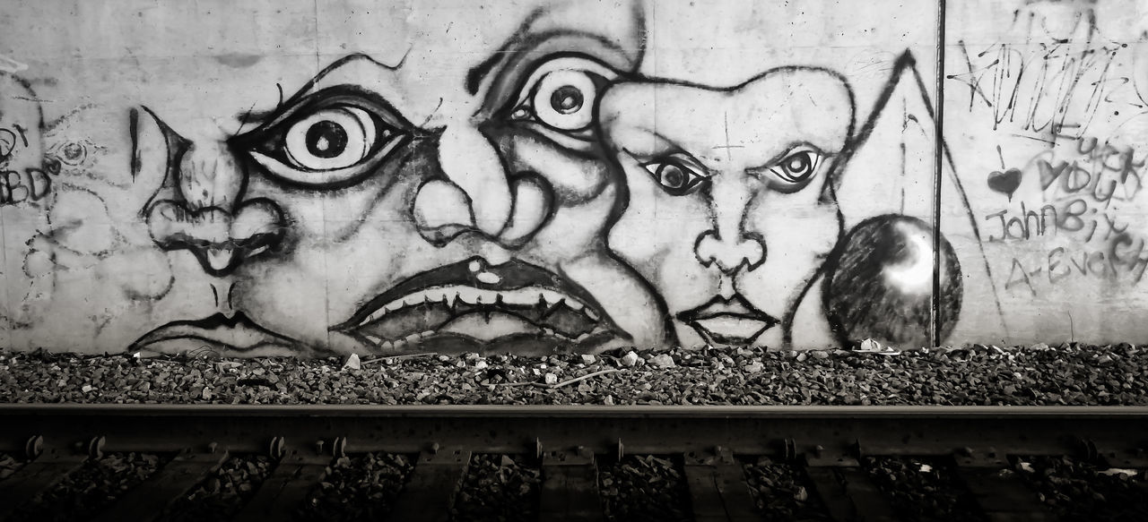 Check This Out Enjoying Life Wall Wallporn Wall Painting Overpass Wall Art Train Track Black And White Blackandwhite Photography Eyeem Graffiti Contrast Graffiti Art Street Art/Graffiti Graffitiart Graffiti Wall Spraypaint Spraypaint Art Spray Can Art Streetphotography Street Graffiti Streetart #street #streetphotography #tagsforlikes #sprayart #urban #urbanart #urbanwalls #wall #wallporn #graffitiigers #stencilart #art #graffiti #instagraffiti #instagood #artwork #mural #graffitiporn #photooftheday #stencil #streetartistry #photograp Contrasting Colors Railroad Track Freeway Overpass