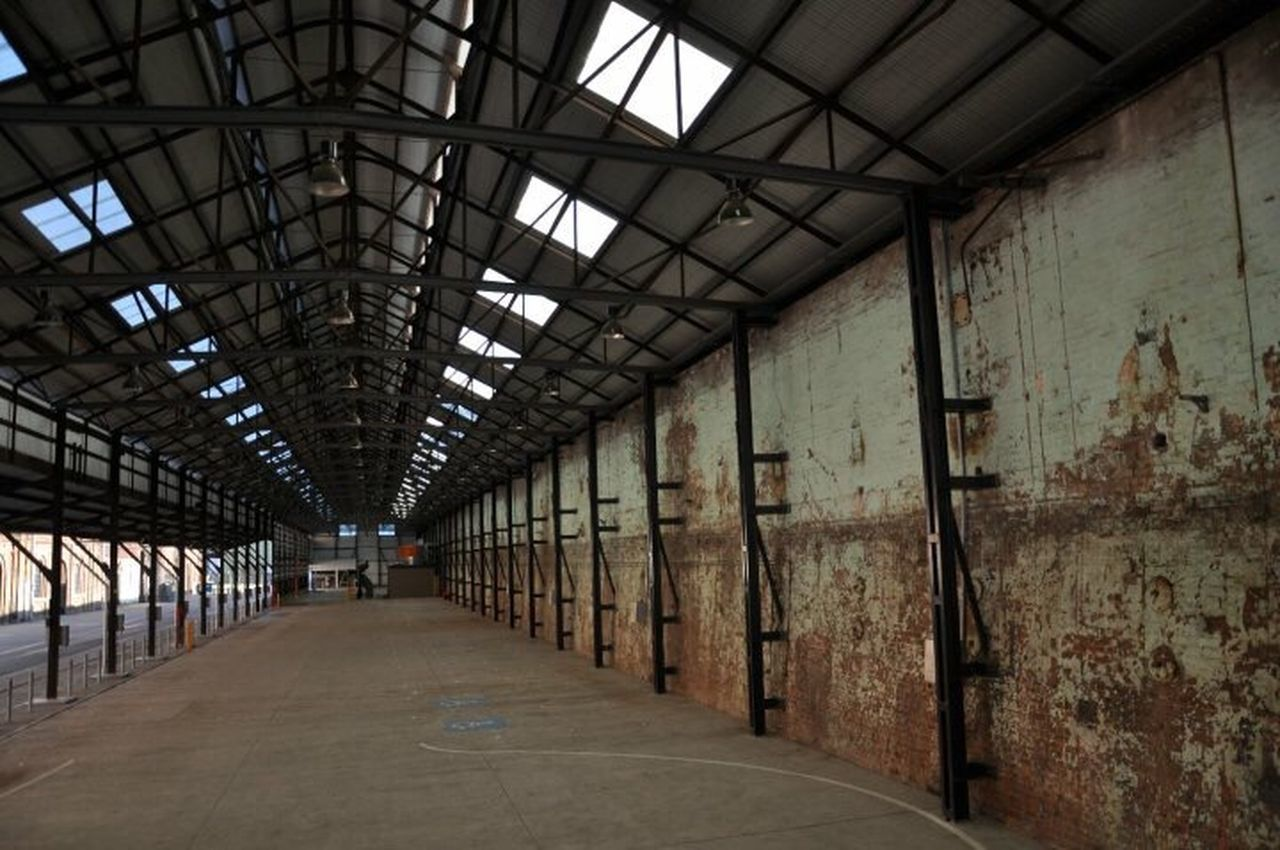 Vantage point Built Structure Architecture Indoors  Abandoned Buildings Warehouse Factory Steel