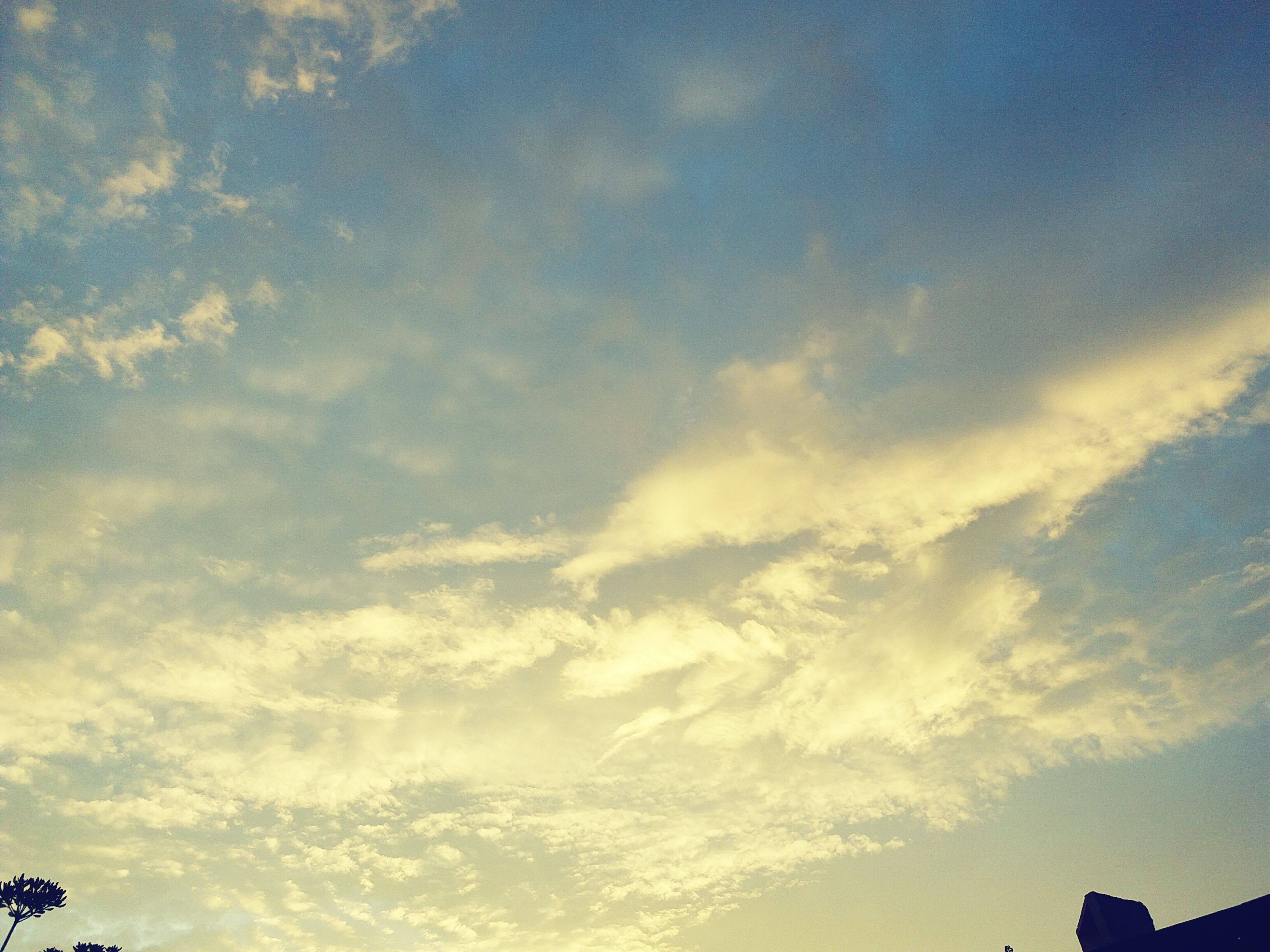 Sky Cloud - Sky No People Beauty In Nature Nature Day Heaven Love Skyfan