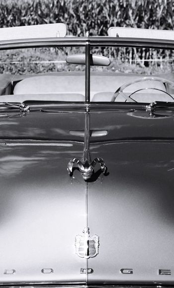 Historic Dodge Automobile Classic Cars Collection New Jersey Black And White No People Outdoors Close-up Convertible Car Exceptional Photographs EyeEm Best Shots