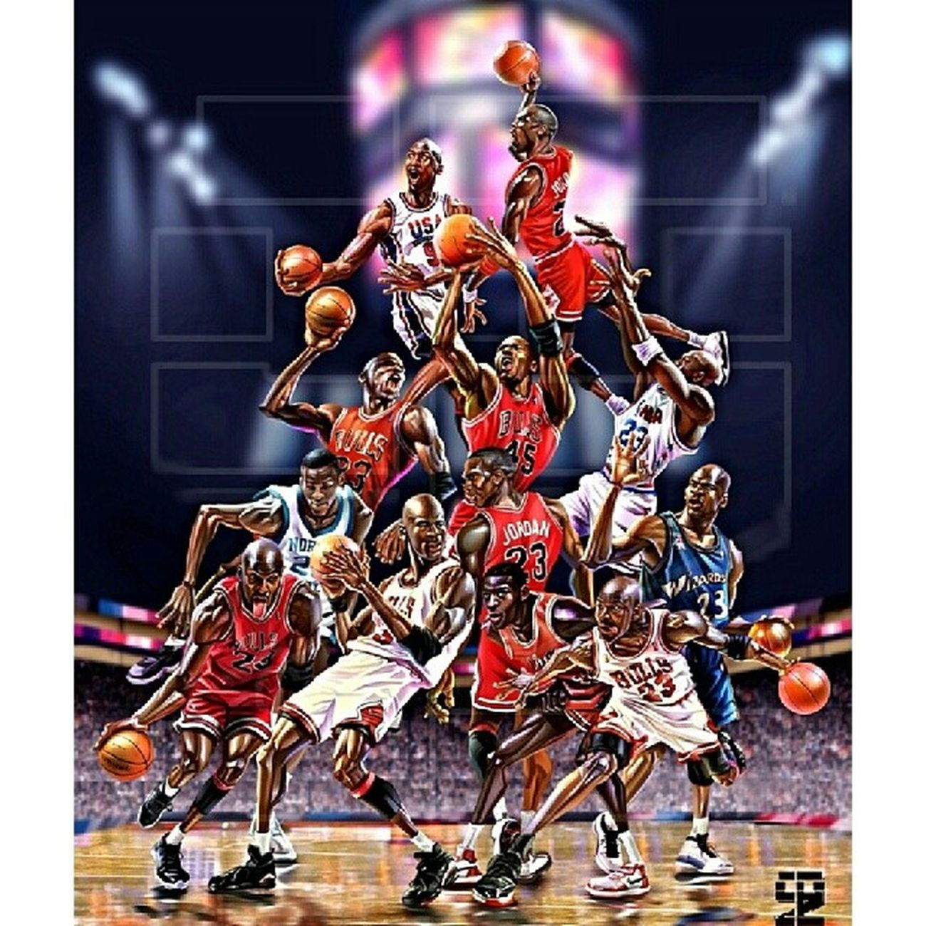 Its a king's birthday! HappyBirthday King Michaeljordan . The original Superman :)