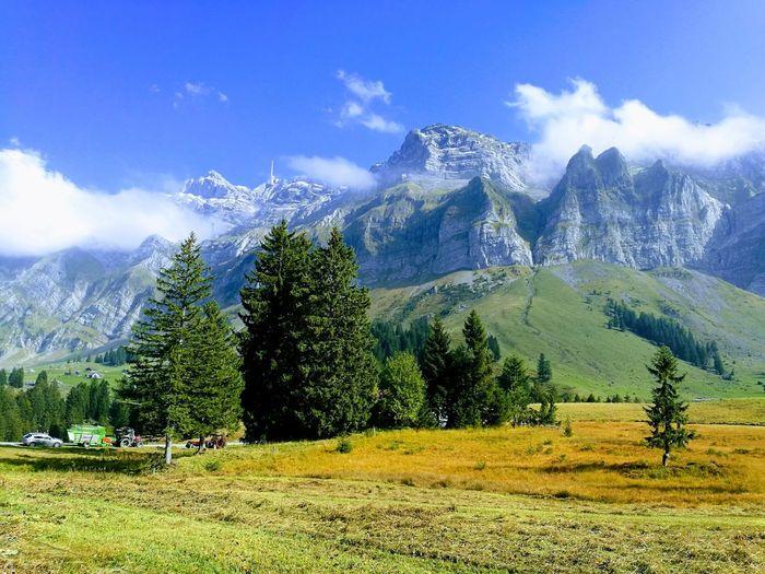 Schwägalp Swiss Mountain Outdoors Landscape Beauty In Nature Planet Earth Motorcycle
