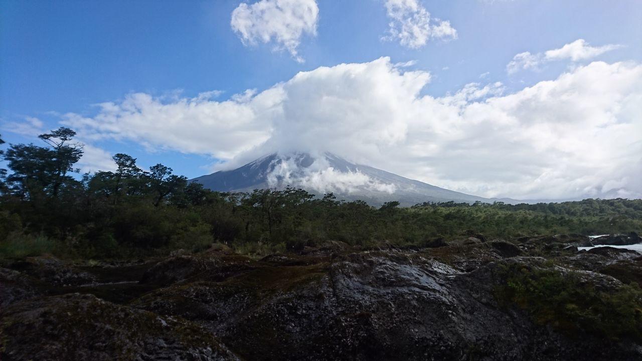 Vista al Volcan Osorno - Petrohué Volcano